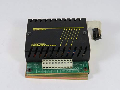 Control Microsystems 5103 Power Supply Module 14-36VDC Or 24VAC