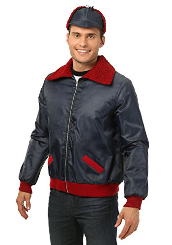 Mr. Plow Plus Size Costume Jacket from The Simpsons 2X Gray