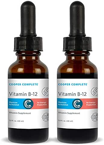 Cooper Complete - Vitamin B12 Supplement - Cherry Flavored Liquid Drops 30 ml - 60 Day Supply