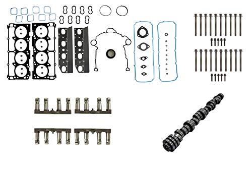 Camshaft Cam Chrysler (VVT NON-MDS Camshaft & Lifter Install Kit for 2009-2015 Chrysler Dodge Jeep 5.7L Hemi Engines)