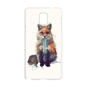 custom samsung galaxy note4 Case, fox cell phone case for samsung galaxy note4 at Jipic (style 1)