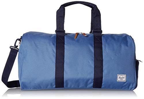 Herschel Novel Mid-Volume Duffel Bag, Riverside/Peacoat, One Size