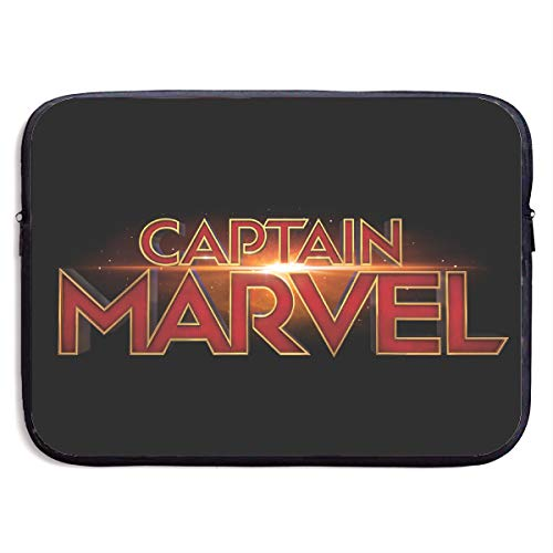 Neoprene Laptop Sleeve Case - Cap-Tain Mar-vel Logo Portable Business Notebook Liner Protective Bag for MacBook Pro/MacBook Air/Asus/Dell 13 Inch]()