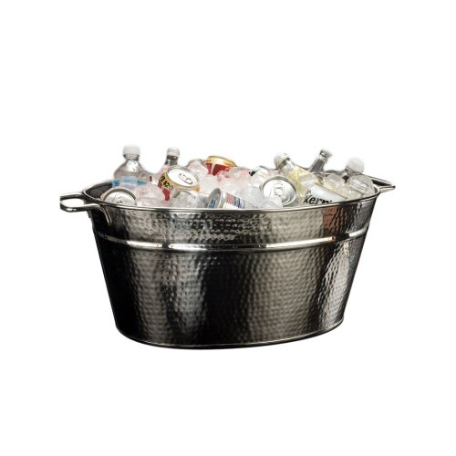 American Metalcraft HMDOB19149 Hammered S/S Party Tub by American Metalcraft