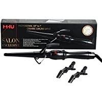 MHU Professional Curling Iron Ceramic with Cool Tip