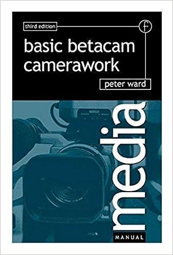 Book Basic Betacam Camerawork (Media Manuals)