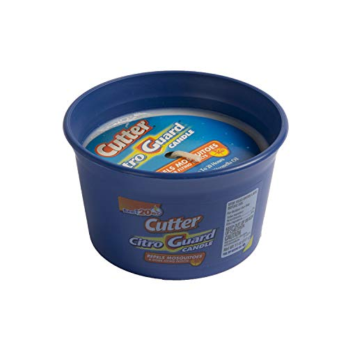 Cutter HG-95975 Citro Guard Citronella Candle, Blue, 11 Ounce