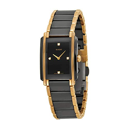 (Rado Integral Jubile Ceramic Black Dial Watch R20612712)