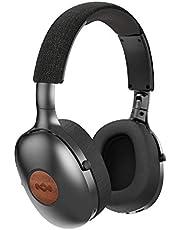 Positiv vibration XL trådlösa hörlurar (Bluetooth, kompakta, over-ear hörlurar, snabbladdning, 24 timmars batteritid, iPhone/Android kompatibel, On-board mikrofon och volymkontroll)