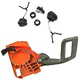 JRL Chain Brake Side Clutch Cover WT Fuel Oil Cap for Husqvarna 268 272 266 61 66