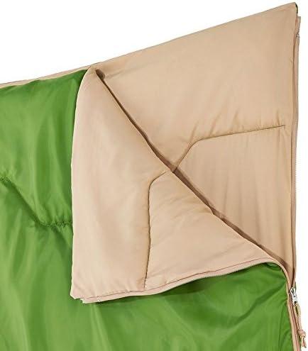 QUECHUA Arpenaz 20 ° Camping Saco de Dormir – Verde: Amazon ...