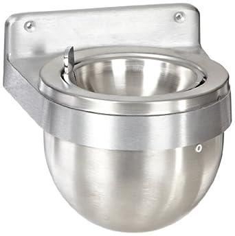 Amazon Com Rubbermaid Commercial Fgu650sa Aluminum Round