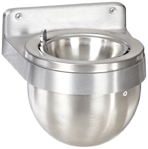 Rubbermaid Commercial FGU650SA Aluminum Round Wall Mount Smokers Station ()