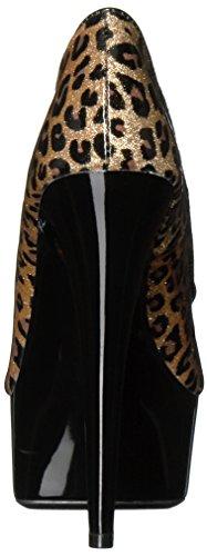 Scarpe Ellie Womens 609-royce Dress Pump Leopard