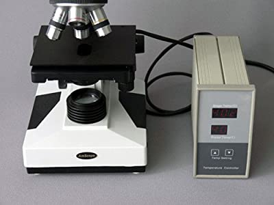 AmScope TCS-100 Microscope Temperature Control Stage Slide Warmer