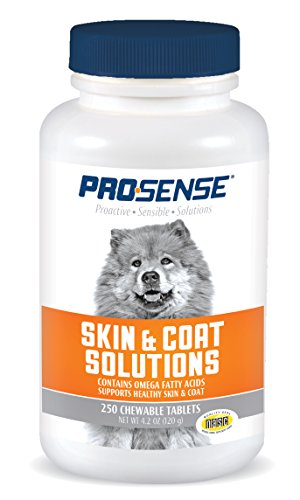 Skin Coat Dogs Supplements (ProSense Skin and Coat Solutions, 250 tablets)