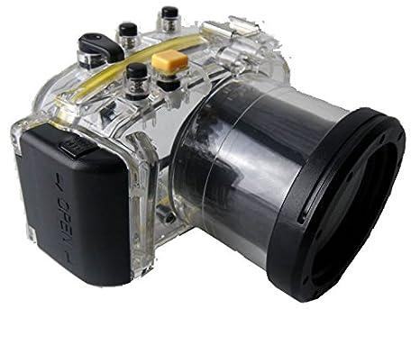 Polaroid Carcasa submarina sumergible apta para buceo SLR para la Cámara Panasonic GF5 con un 14-42mm objetivo