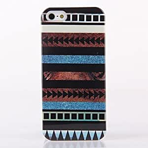Mini - Tribe Stripe Pattern ABS Back Case for iPhone 5/5S