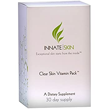 Clear Skin Vitamin Pack for Acne and Pimples - 30 Day Supply