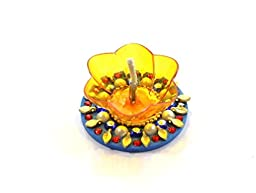 Amba Handicraft Floating Diwali Pooja Diya for Gift/Special Home Décor -05