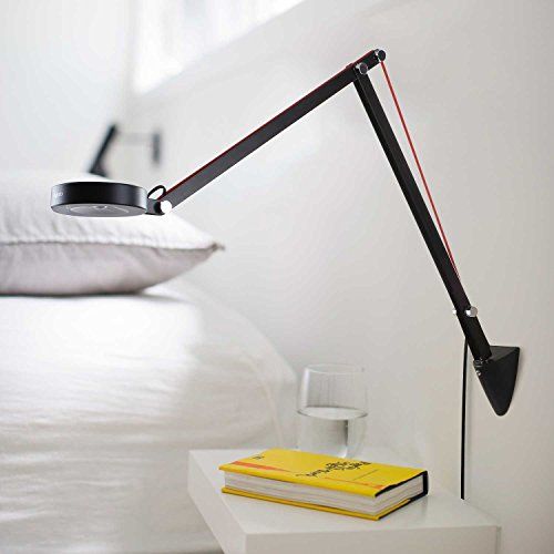 Aglaia Swing Arm Desk Lamp, 6.5W Architect Clamp On LED Lamp, Eye Protection for Home Office Studio (Black) by Aglaia (Image #5)