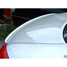 Deltalip Custom Painted Rear Trunk Boot Lip Spoiler For Hyundai Genesis 2009~2014 Coupe Primed Normal Type