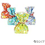 Science Party Cellophane Bags - 12 pc