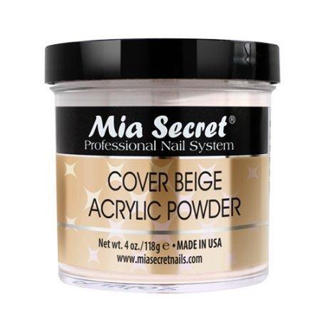 Mia Secret COVER BEIGE ACRYLIC POWDER 4oz