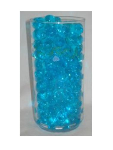 4 Ounce Package Deco Water Beads - All Occasion Table Centerpieces & Unlimited Decorating Ideas (Peacock (Party Decorating Ideas)