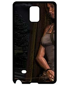 Edouard Duprat's Shop 5226172ZB772984576NOTE4 Samsung Galaxy Note 4 Case Cover, Unique Tomb Raider Photo Slim Fit Clear Back Cover for Samsung Galaxy Note 4