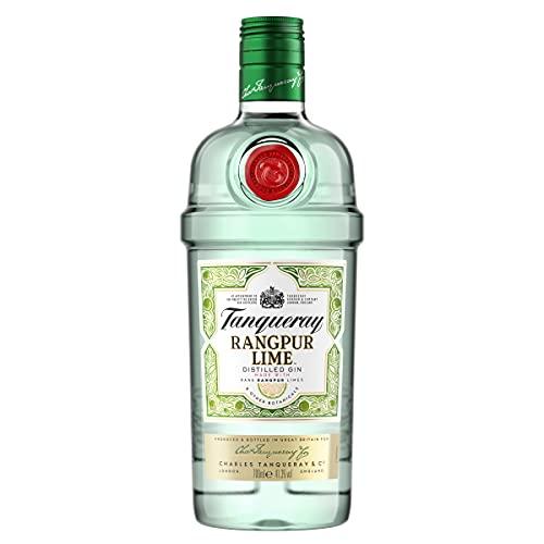 Tanqueray Rangpur Lime Distilled Gin – Ideale Spirituose für Cocktails, Gin Tonic oder als Geschenk – 1 x 0,7l