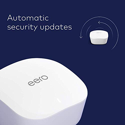 router replacement for whole-home coverage 3-pack + 1 add-on eero mesh WiFi system