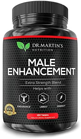 Male Enhancement Supplement 180 Capsules 3 Month Supply Boosts Energy, Testosterone, Endurance Enhances Muscle Growth with Gingseng, Maca, Tongkat Ali Healthy Weight Loss and Fat Burning
