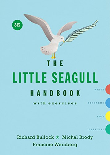 The Little Seagull Handbook with Exercises (Third Edition) cover