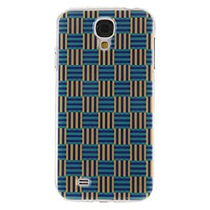20150511 Knit Stripes Pattern Plastic Protective Hard Back Case Cover for Samsung Galaxy S4 I9500
