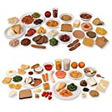 Nasco Life/form Food Replica Combined Packages 1 and 2 - Health Education Education Program - WA03162