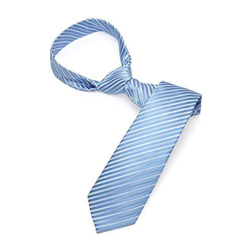 Light Blue Knot Cufflink - 4