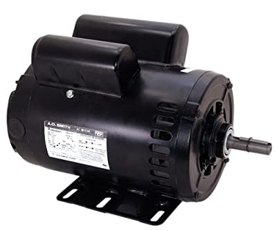 A.O. Smith CP1502LV1 SPL, 3450 RPM, 230 Volts, 1 Service Factor, Reversible Rotation, 5/8-Inch by 1-7/8-Inch Keyed Shaft Compressor Motor
