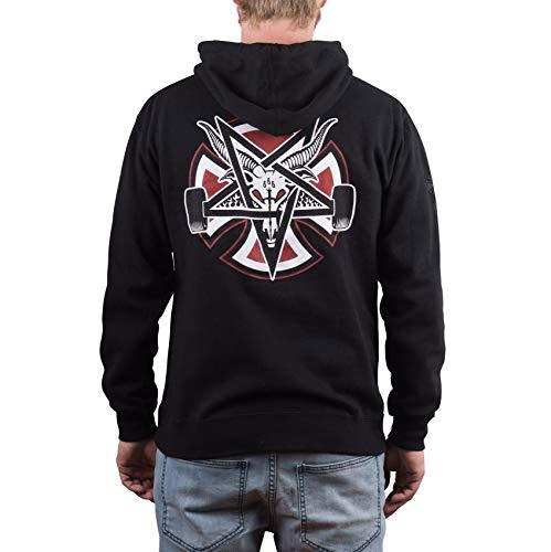 In8aoxzwa X Pentagram Cross Thrasher Hood Black Independent qHpn0x61