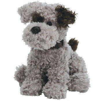 Hund - Terrier, grau Schwarz