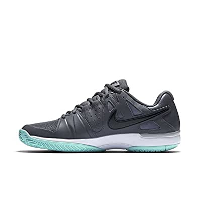 Nike Men's Air Vapor Advantage tennis shoes (9, Dark Grey/Black-Wolf Grey)