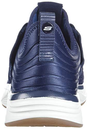 Schwarz Skechers Herren Sneaker SILSHER Navy Skyline S1IqrRw1x
