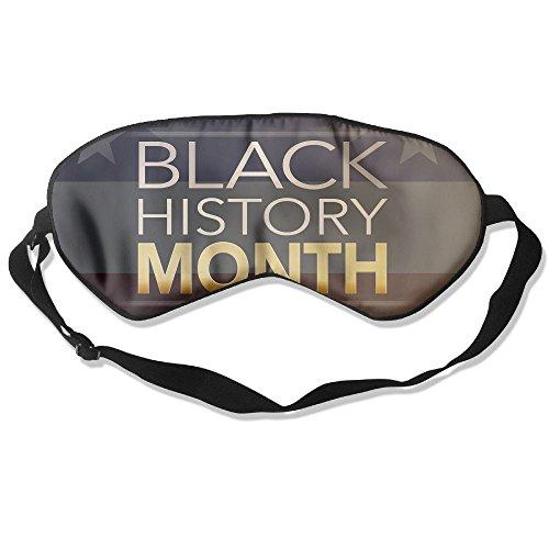 Eye Mask Eyeshade Black History Month Sleeping Mask Blindfold Eyepatch Adjustable Head Strap ()