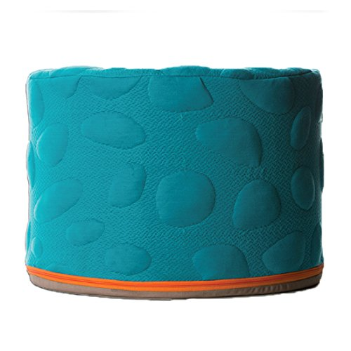 Best Review Of Nook Sleep Systems Soft Organic Pebble Pouf with Liquid-Resistant Wrap Cover