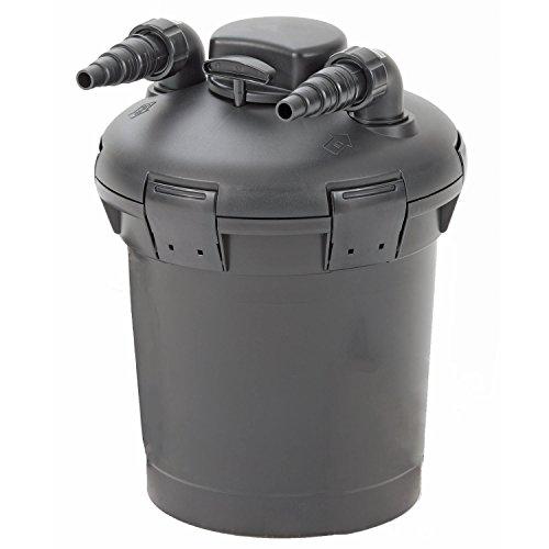 POND BOSS 42762 032284 Fp2600Uv Pressurized Pond Filter with Uv, 2600 Gallon