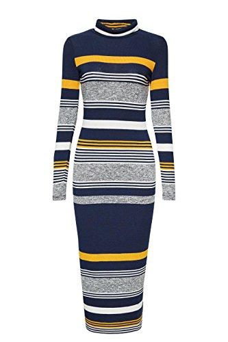 Vestito Multicolore Donna 400 Navy ESPRIT 8qdwC8