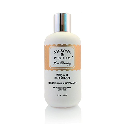 BigWig 8 oz Volumizing Shampoo For Women Men Kids Paraben Free Without Sulfates Color Treated Colored Hair Safe Hair Loss Fine Thinning Thin Volume Natural Grey Curly Cruelty Free Care Products