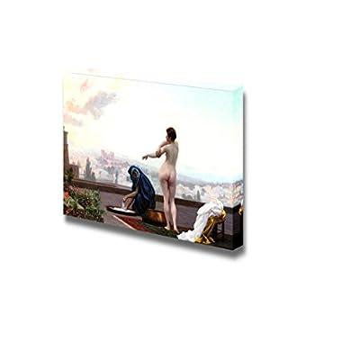 Bethseba by Jean-Léon Gérôme - Canvas Print Wall Art Famous Oil Painting Reproduction - 12