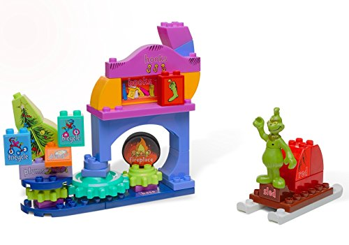 Mega Bloks Dr. Seuss How The Grinch Saved Christmas! Builiding Set, 44 (Dr Seuss Who Characters)