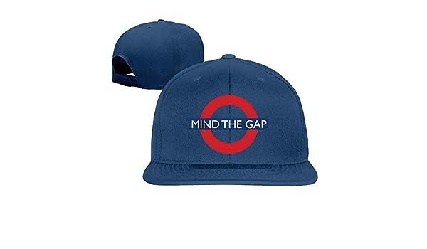 Mind The Gap gorra de béisbol Hip Hop sombrero negro (5 colores): Amazon.es: Ropa y accesorios